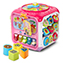 Sort & Discover Activity Cube™ (Pink)