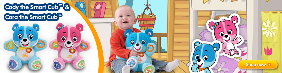Cody the Smart Cub™ & Cora the Smart Cub™