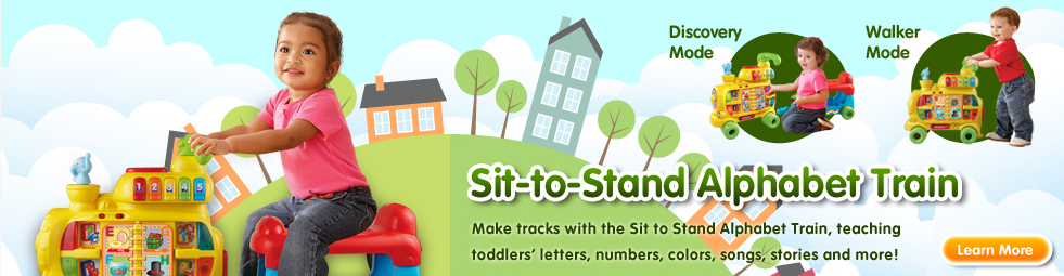 Sit-to-Stand Alphabet Train