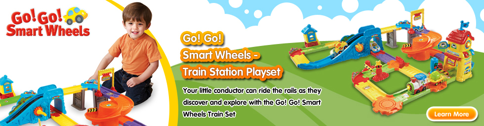 Go! Go! Smart Wheels - Train Station Playset