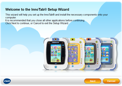 InnoTab® Setup Wizard