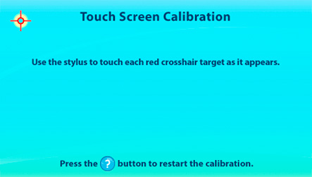 calibrate touch screen android