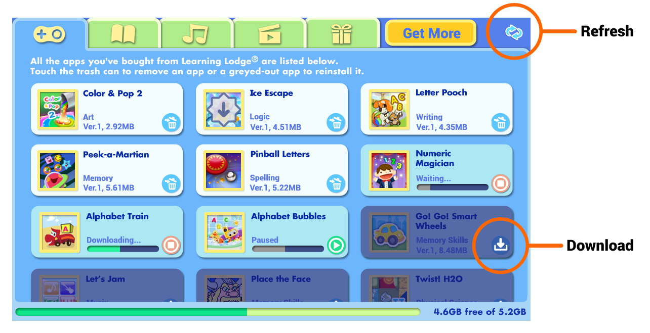 Learning Lodge screen capture