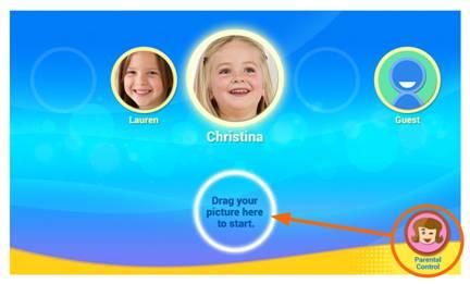 Parental Controls screen capture