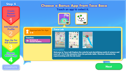 Choose Your Bonus Apps