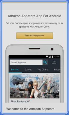 Screen: Get Amazon Appstore