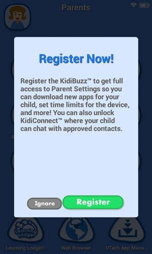 Screen: Register Now!