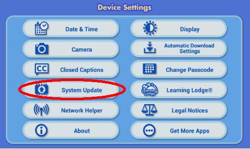 Screen: Device Setting