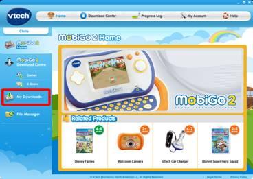 MobiGo® home page
