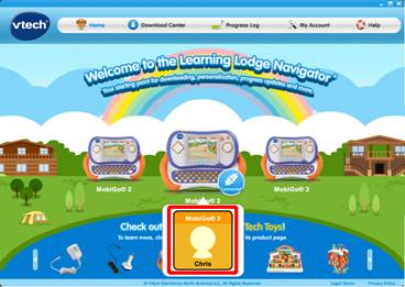 Learning Lodge™ home page