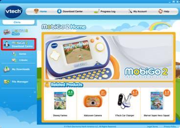 MobiGo® 2 home page