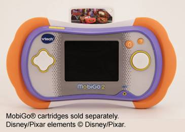Insert the MobiGo® cartridge