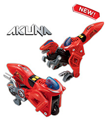 Switch & Go Dinos - Akuna the Velociraptor