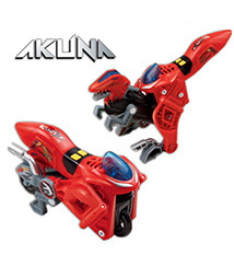 Switch & Go Dinos - Akuna the Velociraptor