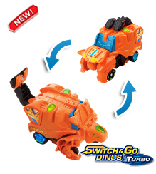 Switch & Go Dinos® Turbo - Fray the Ankylosaurus