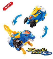 Switch & Go Dinos® Turbo - Cruz the Spinosaurus