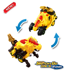 Switch & Go Dinos® Turbo - Spinner the Stygimoloch