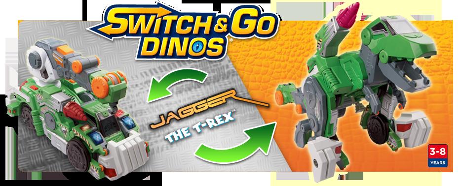 Switch & Go Dinos