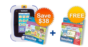 Buy InnoTab 3 Plus bundle and receive a Learning Software for FREE