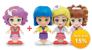 Buy Flipsies Doll + 1 extra Doll - save up to 15%