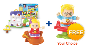 Buy Busy Sounds Discovery Home playset with Free Go! Go! Smart Friend of your choice