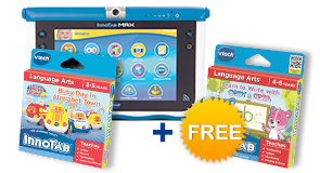 Buy InnoTab MAX with Learning Software and receive the second for FREE!