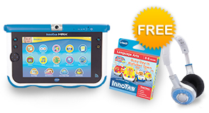 InnoTab MAX Bundle with FREE VTech Headphones and Your choice of Learning Software