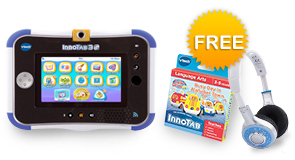 InnoTab 3S Plus Bundle with FREE VTech Headphones and Your choice of Learning Software