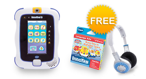 InnoTab 3 Plus Bundle with FREE VTech Headphones and Your choice of Learning Software