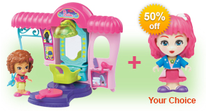 Buy Styla's Salon & Fashion Boutique and receive 50% off Flipsies Doll of your choice
