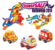 Buy Go! Go! Smart Wheels Play Set and Get 1 Vehicle For Free