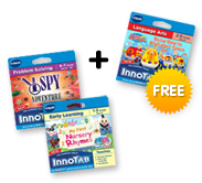 Buy 2 InnoTab Cartridges, get 1 Free