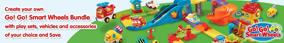 Go! Go! Smart Wheels Playset Bundle