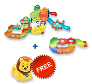 Buy Zoo Explorers Playset and Receive 50% off Junior Track Set and Animal