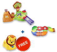 Buy Forest Adventure Playset and Receive 50% off Junior Track Set and Animal