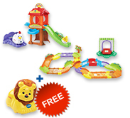 Buy Chicken Coop Playset with Deluxe Track set and receive 1 FREE animal