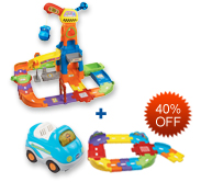 Buy Construction Playset and Receive 40% off Junior Track Set and Vehicle