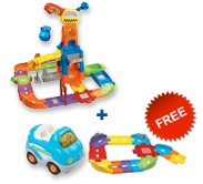 Buy Construction Playset with vehicle and receive FREE Junior Track Set