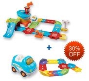 Buy Airport Playset and Receive 40% off Junior Track Set and Vehicle