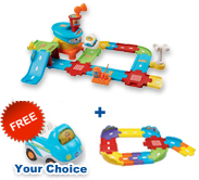 Buy Airport Playset with Junior Track Set and receive FREE vehicle