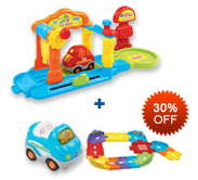Buy Car Wash Playset and Receive 30% off Junior Track Set and Vehicle