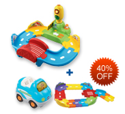 Buy Traffic Signal Bridge and Receive 40% off Junior Track Set and Vehicle