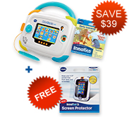 Buy InnoTab 3 Baby Bundle and receive Screen Protector for FREE