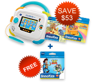 Buy InnoTab 3 Baby Bundle and receive a Learning Software for FREE