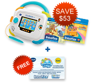 Buy InnoTab 3 Baby Bundle and receive FREE Learning App Download Card