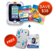 Buy InnoTab 3 Plus bundle and receive FREE Folio Case and Screen Protector