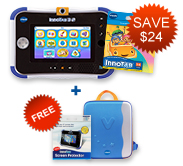 Buy InnoTab 3S Plus with Learning Software and receive a FREE Storage Tote and Screen Protector