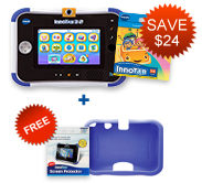 Buy InnoTab 3S Plus with Learning Software and receive a FREE Gel Skin and Screen Protector