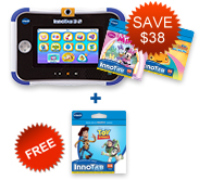 Buy InnoTab 3S Plus with 2 Learning Software and receive a FREE Learning Software