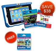 Buy InnoTab MAX with 2 Learning Software and receive the third for FREE!